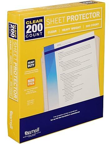 Binder Sheets Card Photo Sleeves Amazoncom Office School
