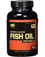 Optimum Nutrition, Enteric Coated Fish Oil 100 softgels