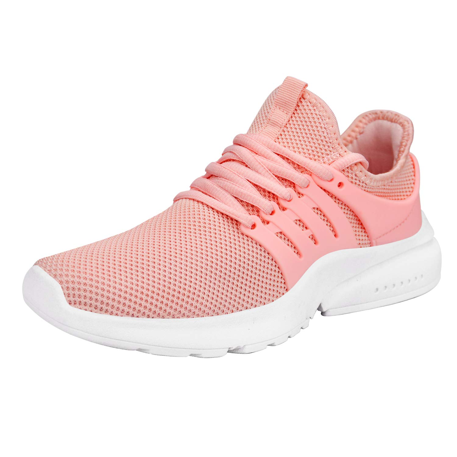 Pink ZOCAVIA Women's Sneakers Breathable Mesh Sport Running