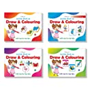 Drawing Practise Collections Set of 4 Books