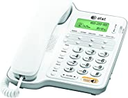 AT&T CL2909 Corded Phone with Speakerphone and Caller ID/Call Waiting, White (Renewed)