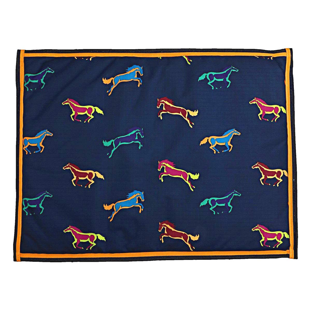 60x80 Shires Digby & Fox Waterproof Dog Bed Horse Print 60cmx80cm