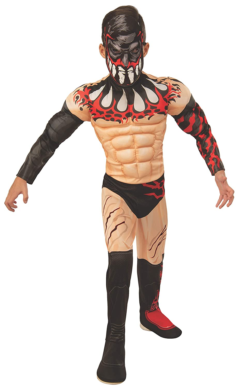 S WWE Finn Balor Boy's Deluxe Fancy Robe Costume Medium