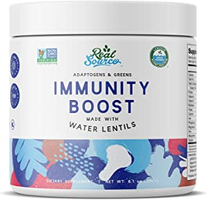 Real Source Adaptogens & Greens Immunity Boost Powder...