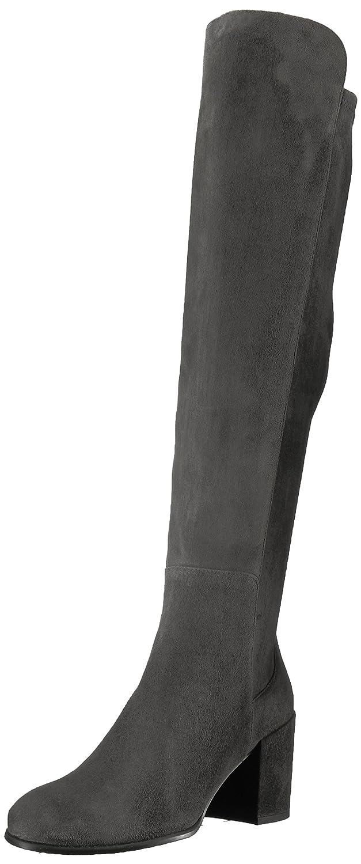 Stuart Weitzman Women's Alljack Over The Knee Boot B06WVNY7C9 5 B(M) US|Slate
