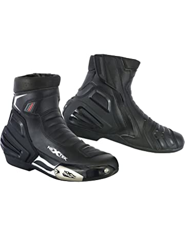 e005cd830d3 PROFIRST Waterproof Motorbike Boots Motorcycle Armoured Short Ankle Shoes  Crash Protection Protective Comfortable Racing Touring Sports