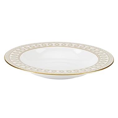 Lenox Marchesa Gilded Pearl Pasta Rim Soup, White