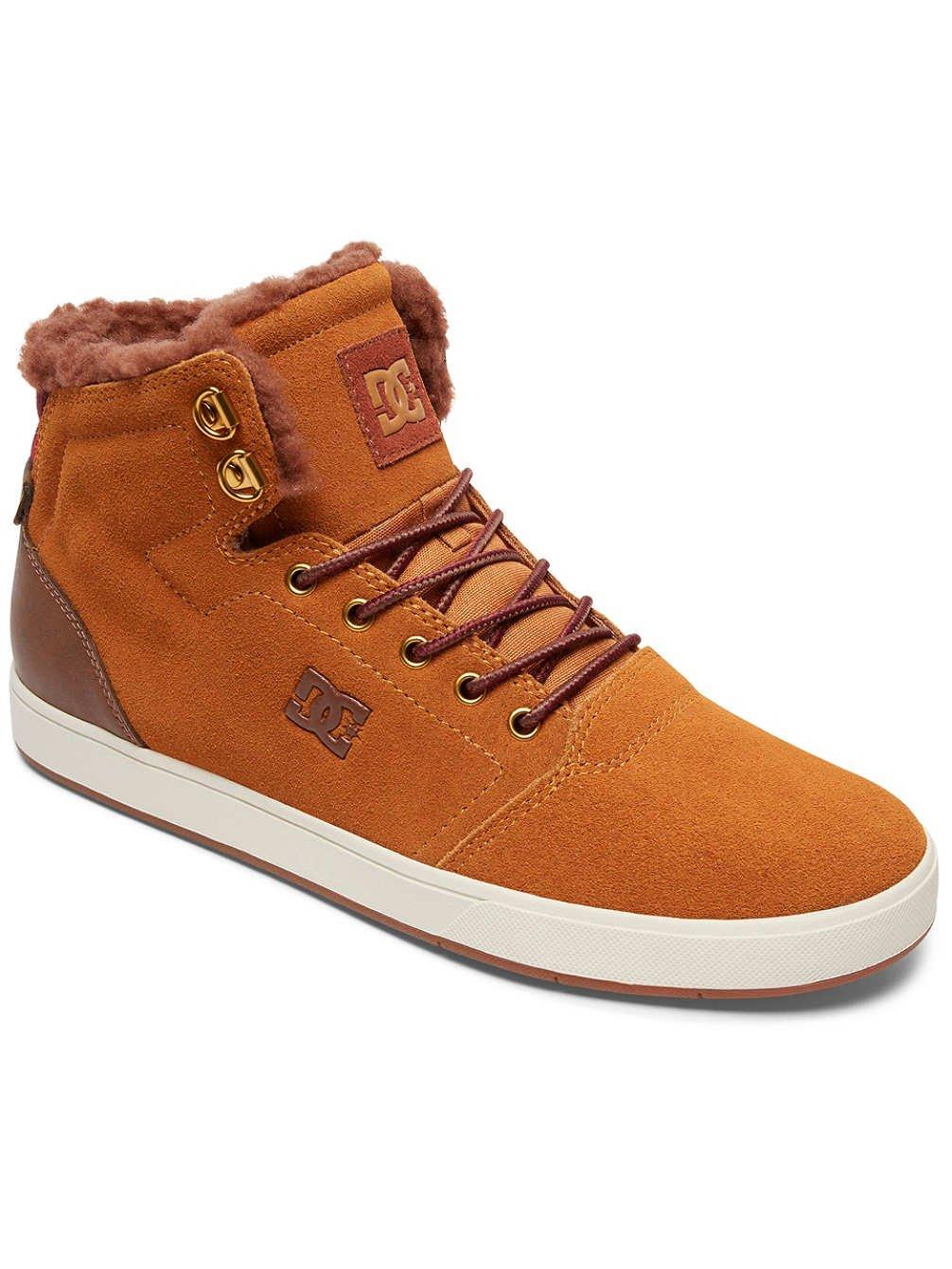 DC Shoes Crisis High WNT, Zapatillas Altas para Niños 40.5 EU|Marron