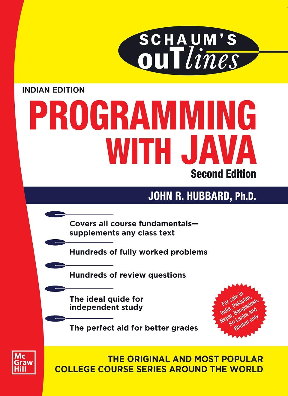 Schaum's Outline Of Programming With Java   Second Edition