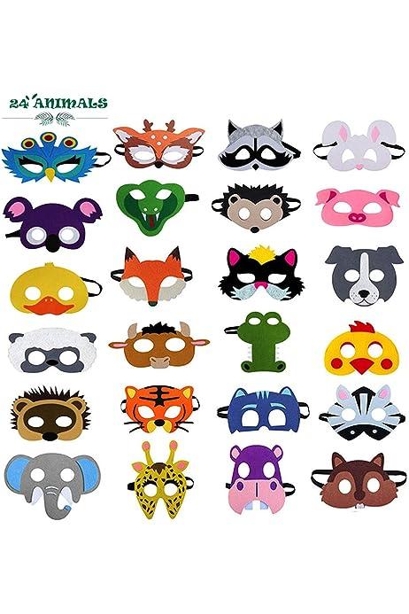 Childrens Animal Magic Nativity Real-Life  Animals Fancy Dress Masks