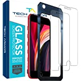"""Tech Armor Ballistic Glass Screen Protector for Apple iPhone SE 2020 / iPhone 6 / 6S, iPhone 7, iPhone 8 (4.7"""") - 99.99% Clar"""