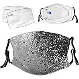 Unisex Bandanas Outdoor Fashionable Face_Mask Washable Reusable Adjustable Breathable Face Bandanas with 2 Pcs Filter