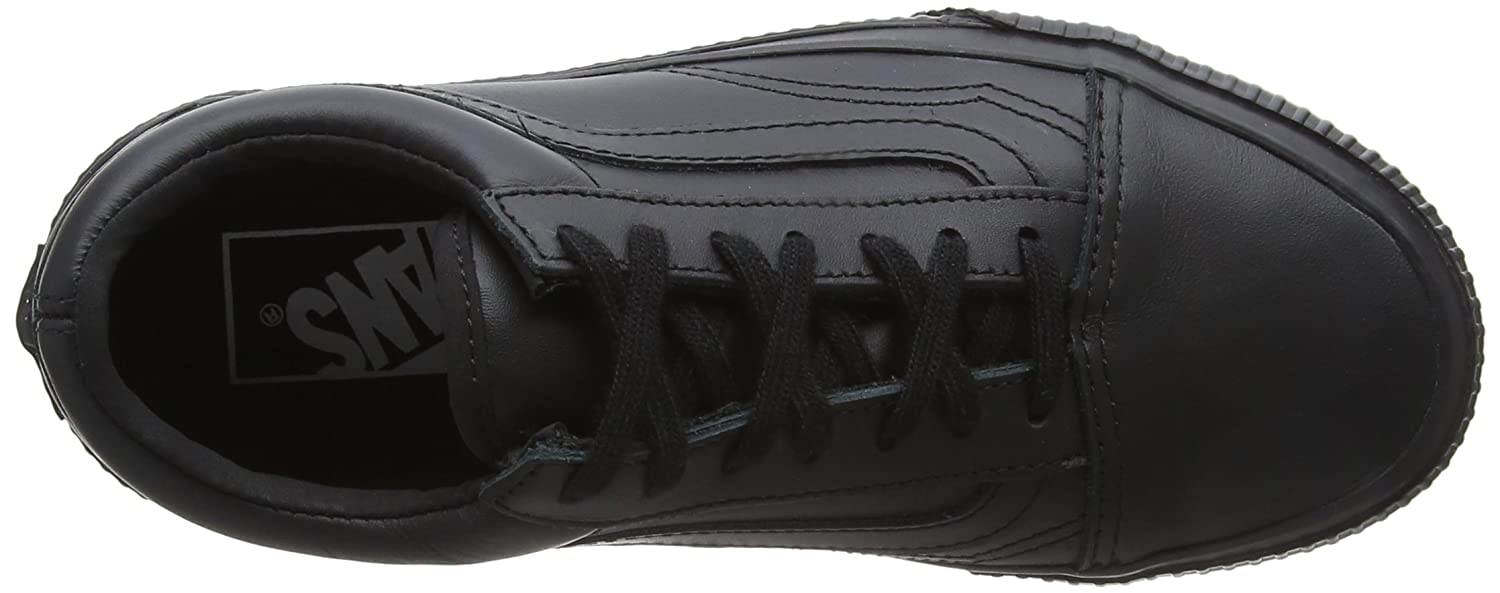 Vans Unisex Old Skool Classic Skate Shoes B06ZZMT86W 5 D(M) US|Black