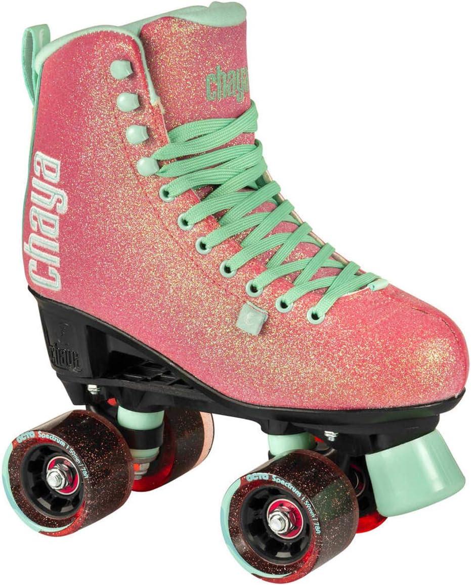 Chaya New Melrose Glitter Quad インドア/アウトドア ダンスローラースケート  Euro 39 / US 8