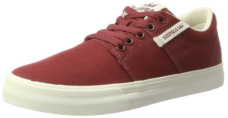 Supra Stacks Vulc II Sneaker B01MZ8WTKO 11.5 D(M) US Brick Red/Bone