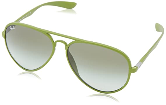 d6dec97c04 ... sale ray ban aviator liteforce metallized green frame green gradient  lenses 58mm non polarized ed339 74cfb