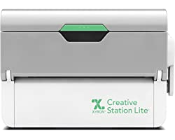 """Xyron Creative Station Lite, 3"""" or 5"""", Label Maker, Makes Invitations, Handmade Cards, Die Cuts Craft Projects, DIY Craft Sup"""
