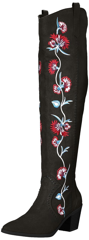 Carlos by Carlos Santana Women's Alexia Fashion Boot B06XKTK9TT 5.5 M M US Black