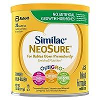 Similac NeoSure Infant Formula with Iron, For Babies Born Prematurely, Powder, 13.1...