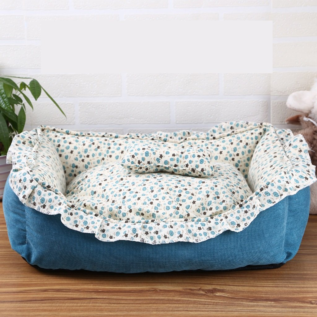 L MENA American Pastoral Removable And Washable Pet Kennel Pet Nest Mat Small Kennel ( Size   L )