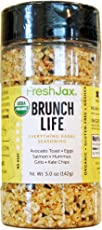 FreshJax Brunch Life Everything Bagel Seasoning, 5 Ounce