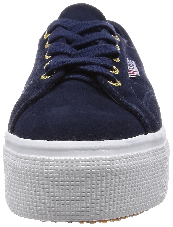 Superga Damen 2790-suew 2790-suew Damen Sneaker, Blau (Blau Lt) 20c542