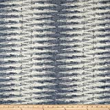 Justina Blakeney Boogie Basketweave Indigo Fabric By The Yard