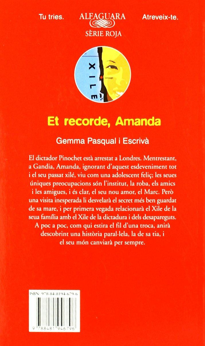 ET RECORDE AMANDA EBOOK