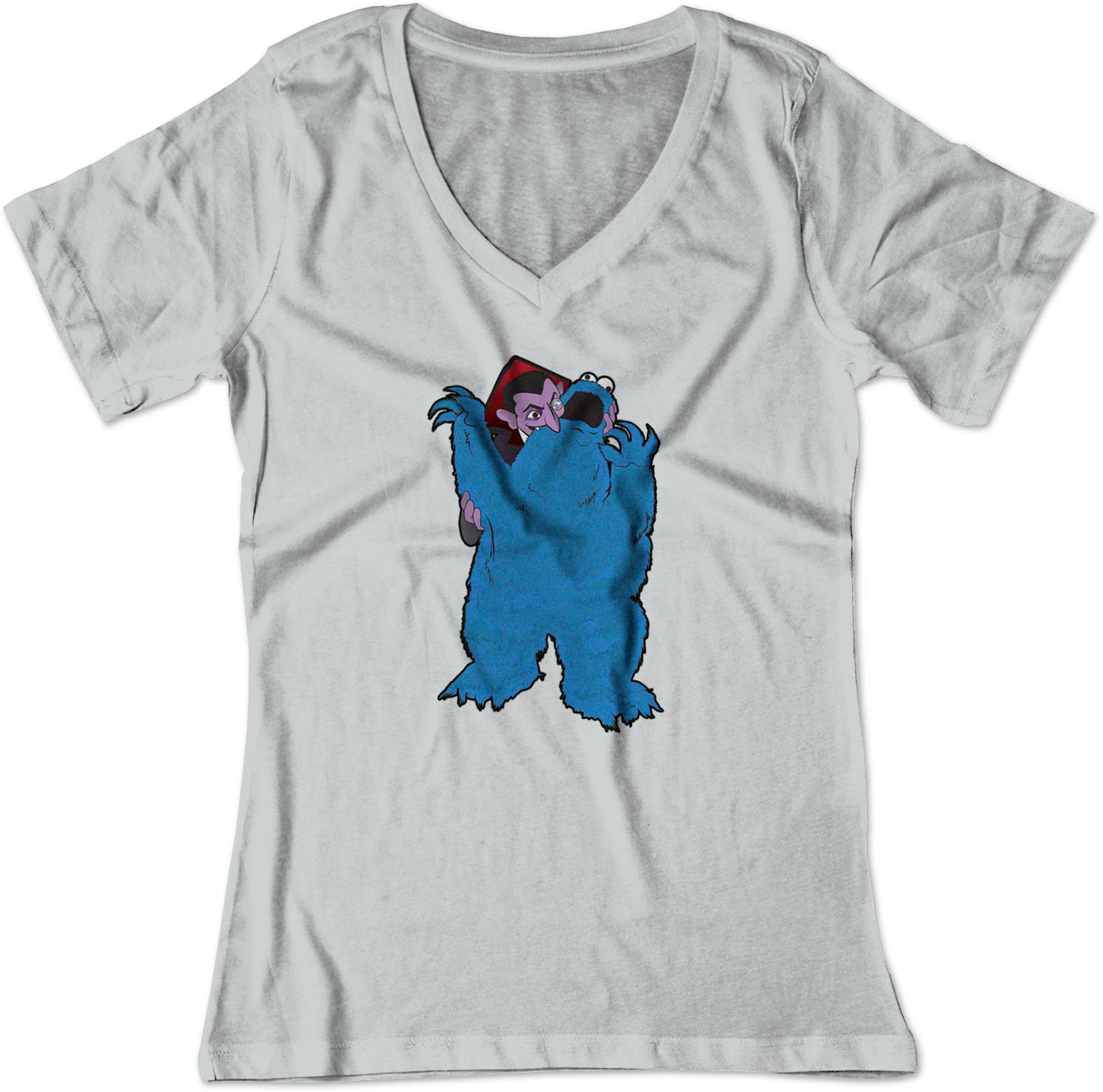 The Count Bites Cookie Monster Sesame Shirt 3290