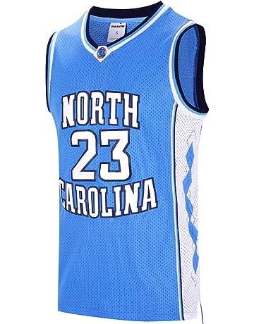 07e965319c74 RAAVIN  23 North Carolina Mens Basketball Jersey Retro Jersey Blue S-3XL