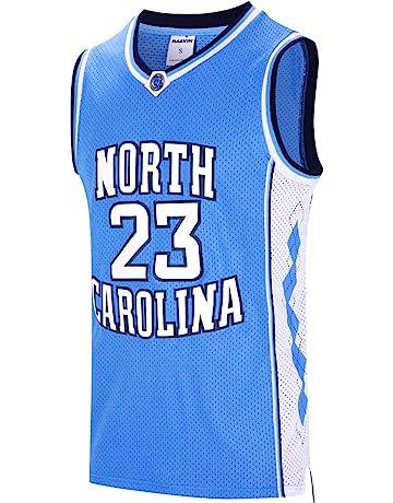 RAAVIN  23 North Carolina Mens Basketball Jersey Retro Jersey Blue S-3XL b4f1064f4