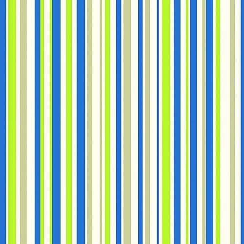 Arthouse 668700 Earn Your Stripes Wallpaper Blue Green 53 Cm X 1005 M