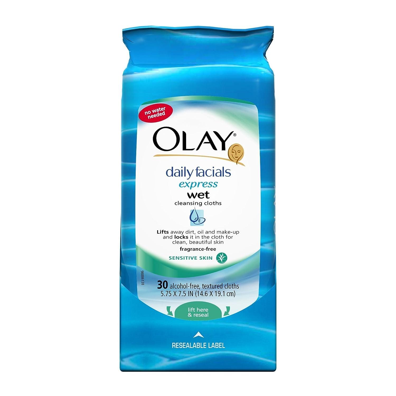Oil of olay daily facials