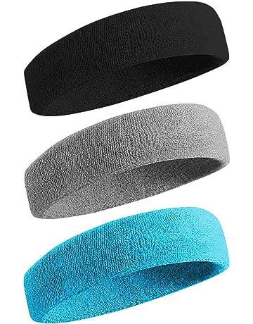 45f6eb6fb0fd8 Amazon.com: Sweat Headbands & Wristbands - Accessories: Sports ...