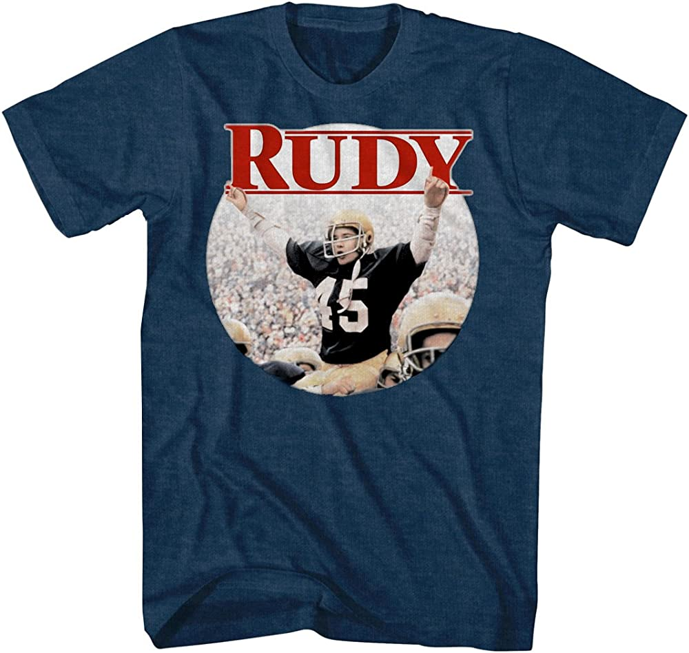 Rudy Ruettiger Football Sports Movie Notre Dame Circle ...