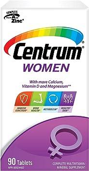 Centrum Women (90 Count) Multivitamin/Multimineral Supplement Tablet, Vitamin D