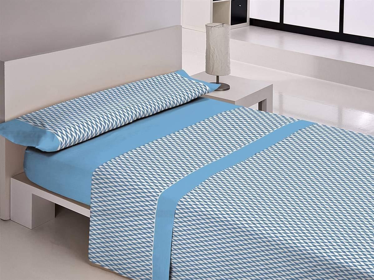 Libela Bambu Juegos sabanas 100% Poliéster, Azul 135 Cm 3 product image