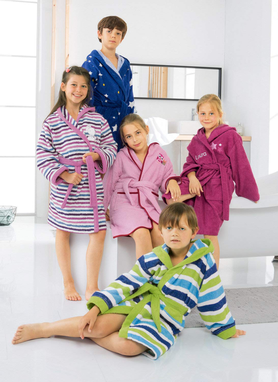 Kinderbutt Bademantel Frottier grün Größe 146 152 152 152 B00ZQY3EI0 Bademntel 62f176