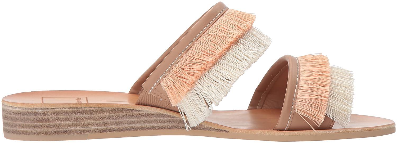 Dolce Vita Women's Haya Slide Sandal B0784HH9RX 7.5 B(M) US Natural Fringe