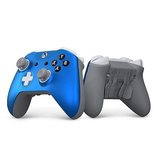 Amazon.com: SCUF Prestige Wireless Custom Performance Controller for Xbox One, Xbox Series X|S, PC & Mobile - Blue & Gray - Xbox: Video Games