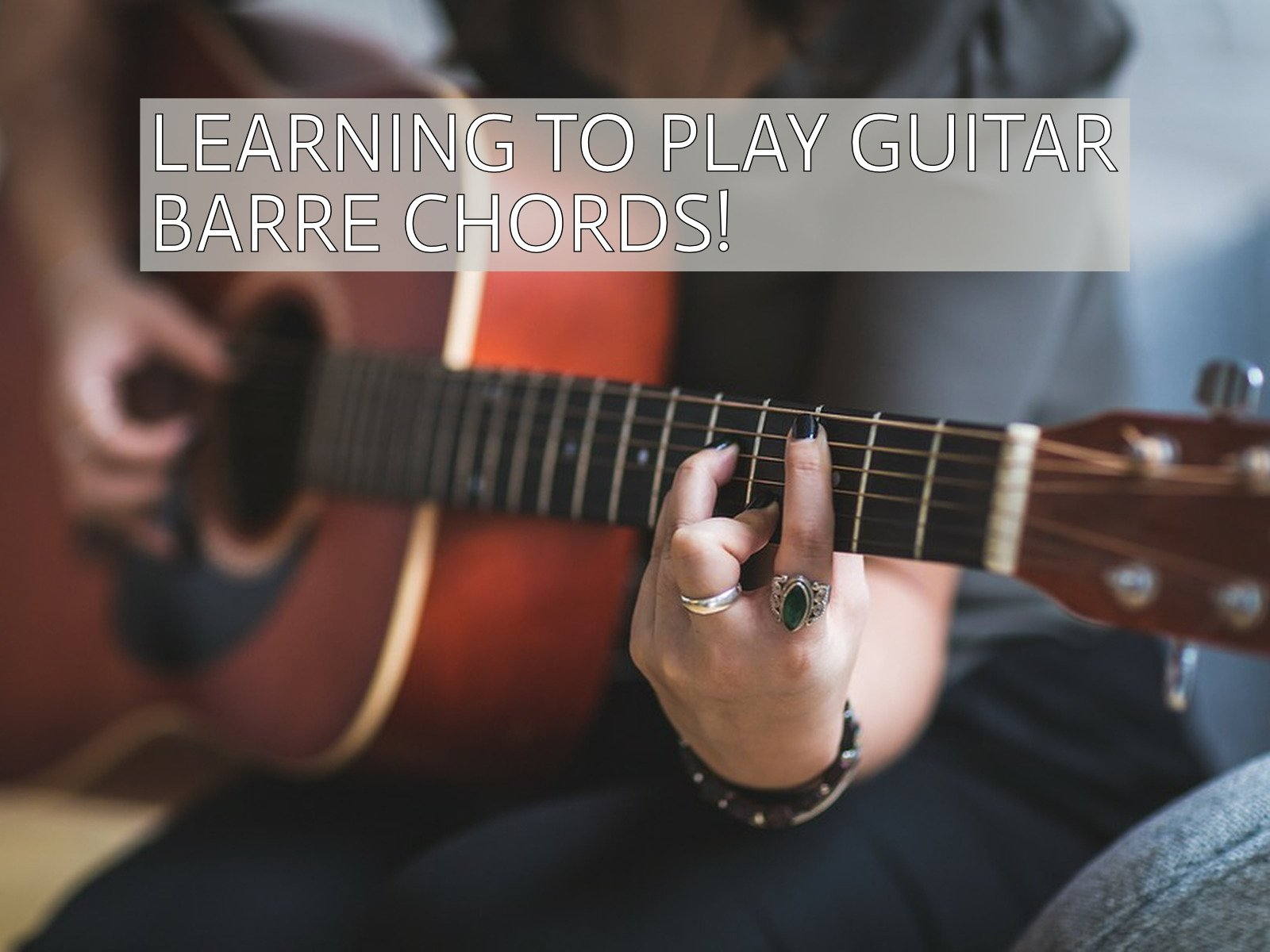 Amazon Learning To Play Guitar Barre Chords Gary Clinton Ged