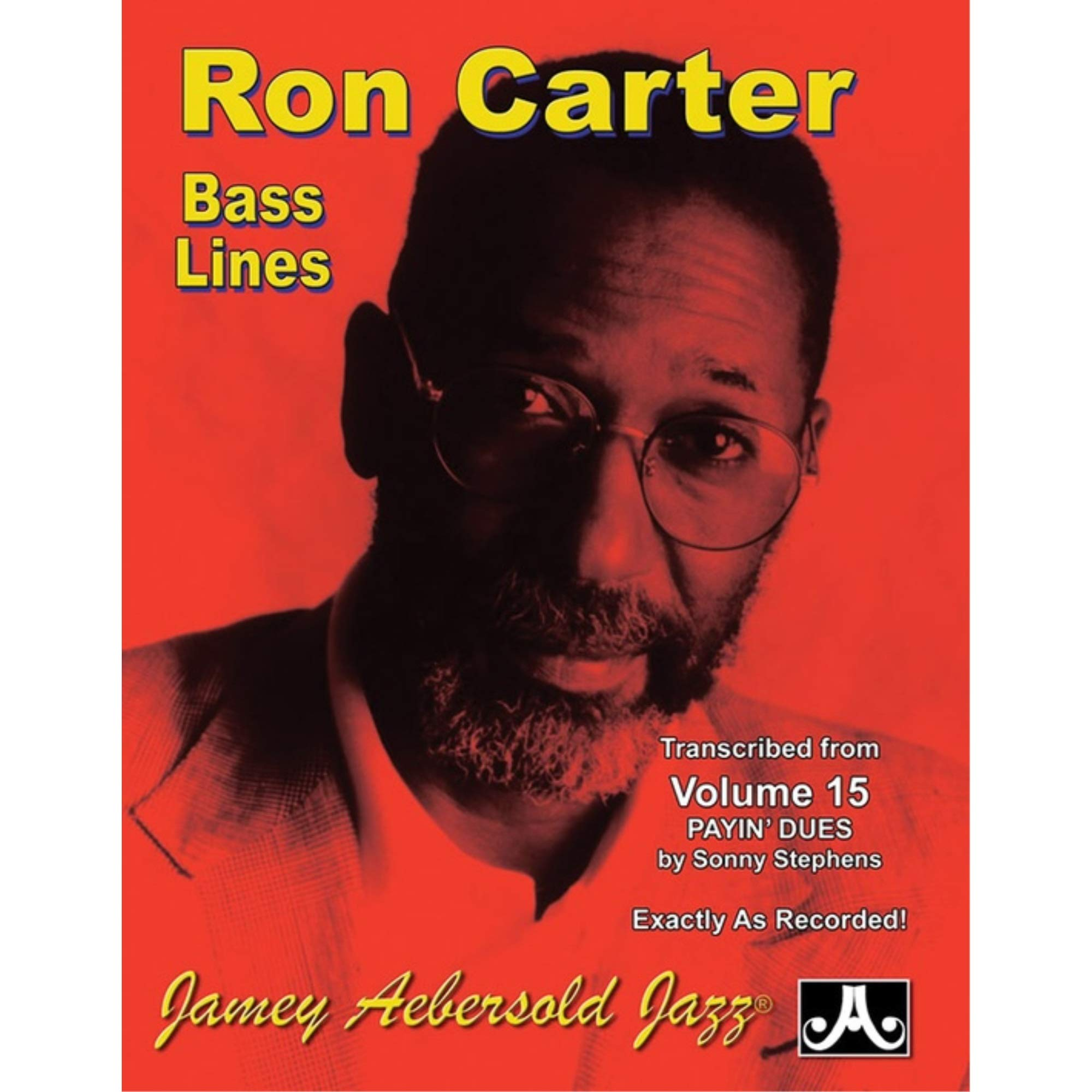Bass Lines Aebersold 15 Payin Dues By Ron Carter: Amazon.es ...