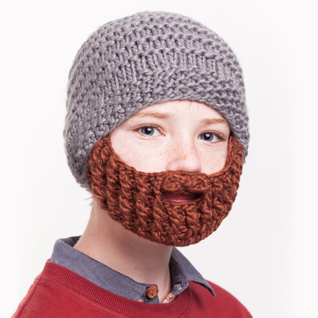 b8c42ede8cf czech amazon beardo kids detachable beard hat black brown beard beanie kids  garden outdoor 1fff3 cac4f
