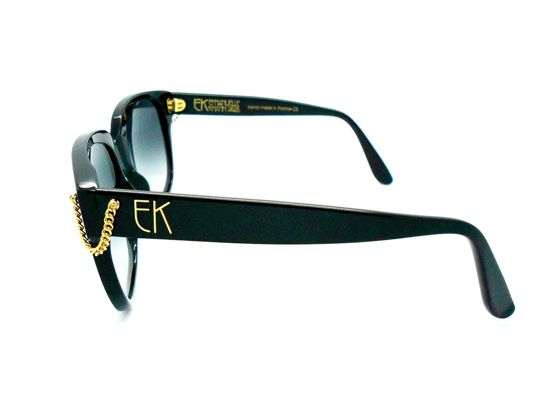 69d74aa0bc2 Emmanuelle khanh vintage black sunglasses clothing jpg 1500x1082 Emmanuel  kahn sunglasses paris