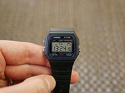 Casio F-91W-1YER Men's Resin Digital Watch: Amazon.co.uk ...