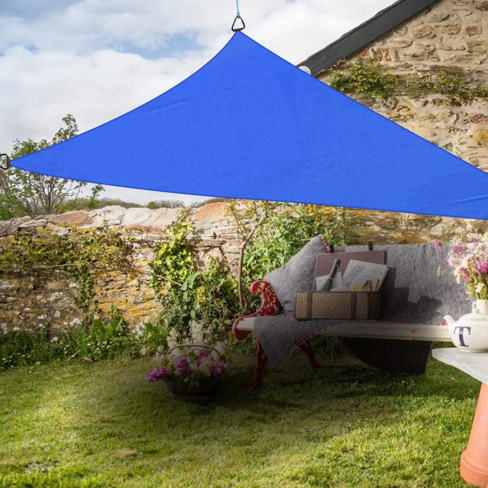 Greenbay Triangle Anti-UV Sun Shade Sail Outdoor Patio Party Sunscreen Canopy Sunsail and Sizes  sc 1 st  Amazon UK : sun canopy for garden - afamca.org