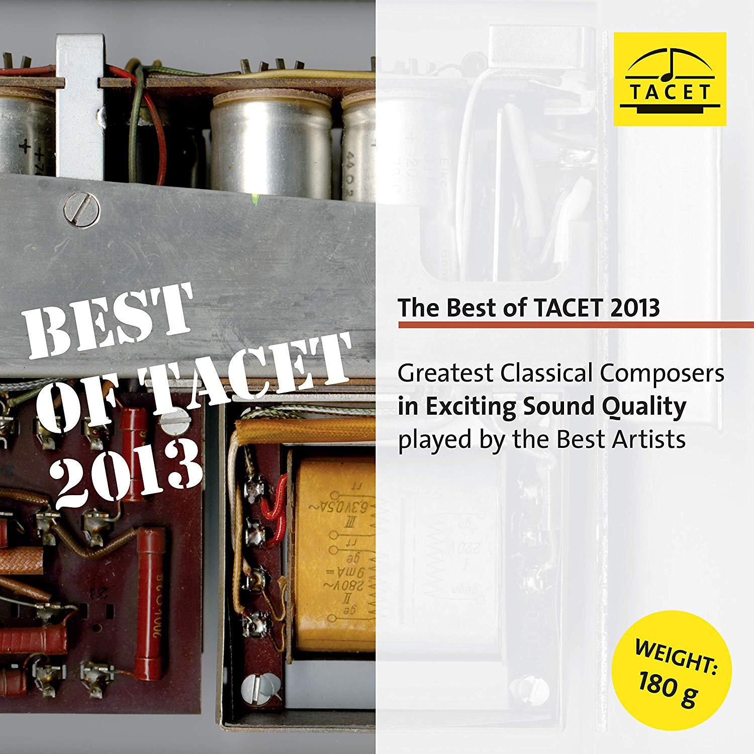Vinilo : VARIOUS - Best Of Tacet 2013 (LP Vinyl)