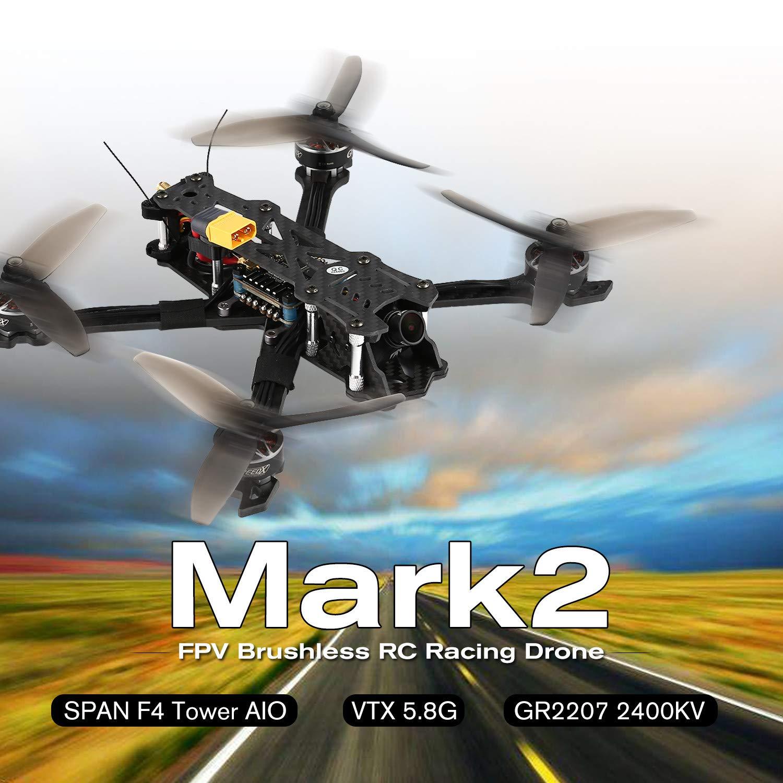ventas calientes FairytaleMM FairytaleMM FairytaleMM GEPRC Mark2 FPV Brushless RC Racing Drone Camera Full 3K Fibra de Carbono BNF  Venta en línea de descuento de fábrica