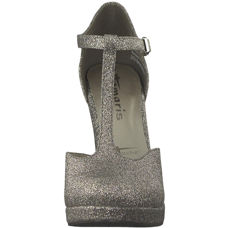 Tamaris 1-1-24409-20 Damen Pumps, Slipper, Sommerschuhe die für die Sommerschuhe Modebewusste Frau Platinum Glam 9c96d7