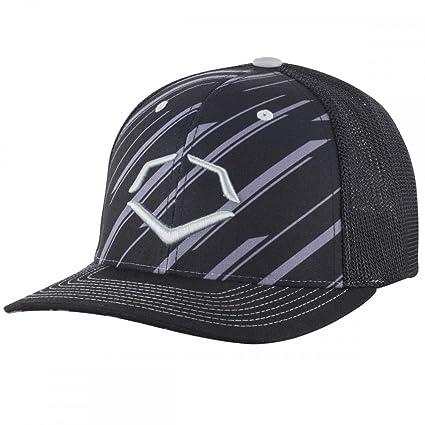 check out b93ed a23b0 ... inexpensive evoshield flex fit hat w speed stripe small medium black  charcoal 2c96c 1edd5